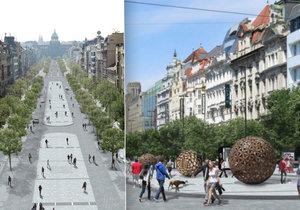 Spodní část Václavského náměstí konečně změní podobu.