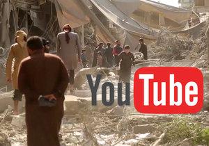 Youtube maže násilná videa.