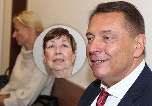 Jiří a Petra Paroubkovi před soudem kvůli Margaritě, přišla i ex Zuzana!