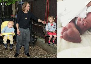 Trojnásobný otec Tomáš Klus: Děti už bych mohl nechat samotné, o mimino se postarají ty starší!