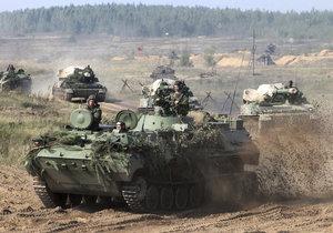 Rusko a Bělorusko cvičí, jak bojovat se Západem.