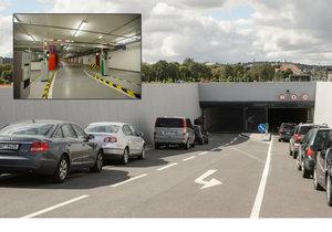 V polovině září 2017 se zprovoznily podzemní garáže na Letné v Praze.
