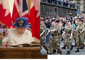 Královna Alžběta II. má napsanou řeč v případě vypuknutí 3. světové války.