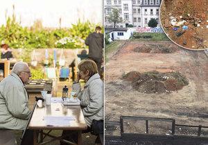 Komunitní zahrada v Praze 2