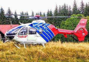 Turistka se zřítila v Krkonoších: Padala několik set metrů! Musel pro ni vrtulník