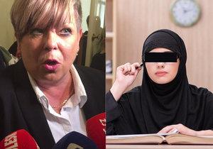 Ředitelka po sporu o zakázaný hidžáb: Vyhrál zdravý rozum.