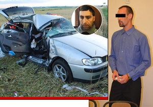Petr Pavliš přišel při bouračce o manželku a dvě děti (†3 a †6). Viník nehody Petr Š. se proti čtyřem letům ve vězení odvolal.