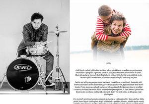 Bubeník kapely Mirai Šimon Bílý promluvil o své zesnulé ženě Denise.