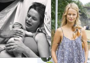 Helena Houdová zveřejnila foto z porodního sálu.