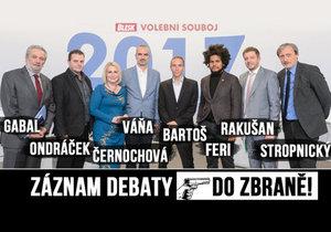 Politici v debatě Blesku: Česko by teror zvládlo lépe než Němci, útok u nás nehrozí.