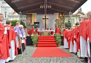 Poutníci si ve Staré Boleslavi připomněli odkaz svatého Václava.