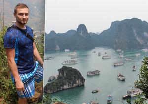Marek Pýcha spolu s přáteli procestoval Vietnam na vlastní pěst.