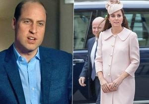 Těhotnou Kate trápí silné nevolnosti! Čím se William snažil zmírnit její utrpení?