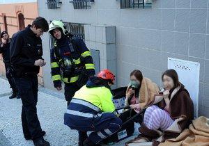 Požár v prvním patře vyhnal hosty z hotelu. Škoda se vyšplhá k půl milionu korun