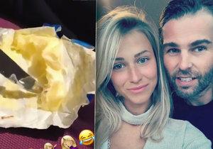 Jágrova holka Kopřivová: Vysmívá se předraženému máslu!