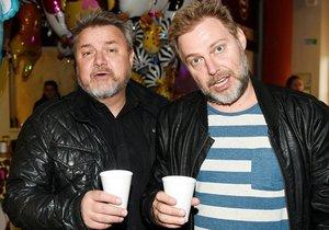 Miloš Pokorný a Roman Ondráček jako Těžkej Pokondr