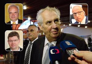 """Miloš Zeman to schytal za své vystoupení před Radou Evropy i slova o tom, že """"zabije kameramana"""", pokud mu neuhne."""
