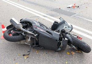 Tragicky dopadl střet motorkářky (42) a chlapce (†14). Rodiče dítěte se rozhodli jeho orgány darovat. (Ilustrační foto)