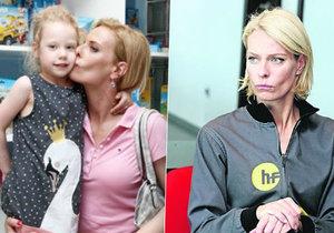 Kristina Kloubková se bojí o dceru.