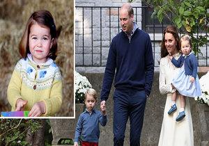 Děti princezny Charlotte nebudou mít nárok na titul.