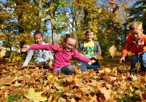 Podzim v Česku je v teplotách nadprůměrný.