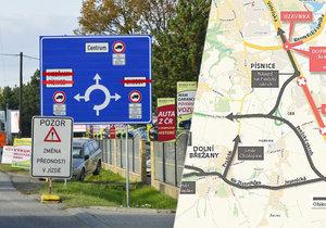 Hrozí jihu Prahy kolaps? Uzavřená je Vídeňská ulice i Kunratická spojka