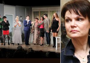 Simona Postlerová trpí kvůli smrti manžela: Na jevišti smích, v zákulisí pláč.