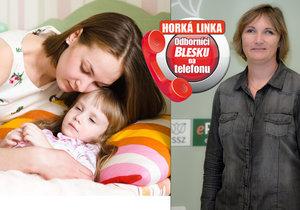 Horká linka Blesku: Ošetřovné se platí na dítě i dospělého