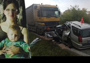 Martínkova maminka a babička zemřely po srážce s kamionem.