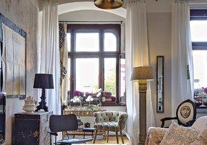 Glamour domov by v obyčejném činžáku nikdo nečekal.