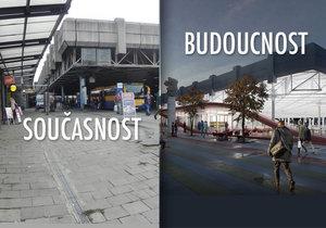 Největší atuobusové nádraží v republice - brněnská Zvonařka - se změní k nepoznání.