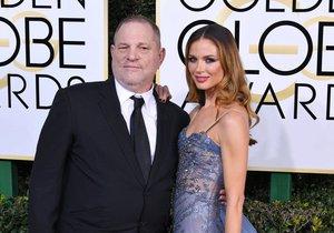 Harvey Weinstein s manželkou Georginou Chapman