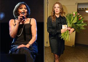 Aneta Langerová na koncertě Marty Kubišové prozradila, že chce miminko.