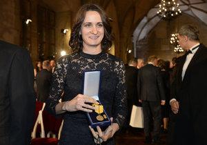 Státní vyznamenání 2017: Martina Sáblíková s medailí