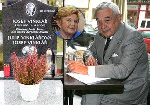 Tajemství Vinklářova hrobu prozrazeno.