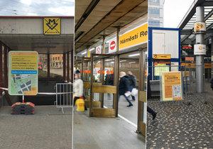Opravy v pražském metru předvánoční nákupy pěkně zkomplikují.