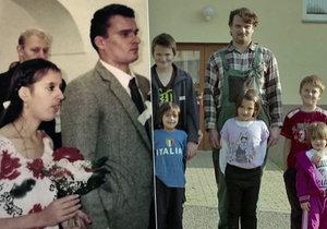 Mise nový domov - Sihelského opustila manželka a on nyní vychovává pět dětí.
