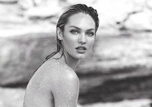 Modelka a andílek Victoria's Secret Candice Swanepoel zveřejnila nahou fotku.