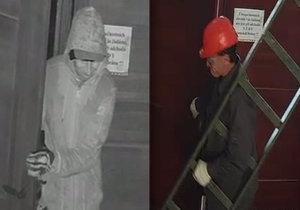 Muž se nejdřív do domu vkradl jako dělník, při druhé návštěvě založil požár.