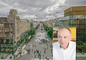 Václavské náměstí čeká v budoucnosti velká proměna!