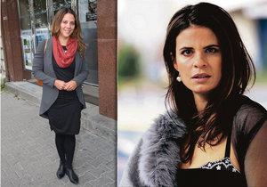 Zuzana Fialová promluvila o tom, jaké bylo s Anetou Langerovou natáčet erotickou scénu.
