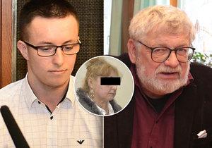 Vyšetřovatel Nečesaného obvinil reportéra Klímu: Oběť se kvůli němu chtěla zabít!