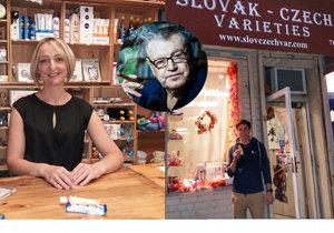 Chleba, sušenky, sádlo, okurky nebo krémy a léky z Česka! To vše pořídíte vnewyorském obchůdku, který provozují manželé zČeska. Nakupovat knim chodí i oscarový režisér Miloš Forman.