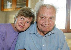 Herec Petr Haničinec s manželkou
