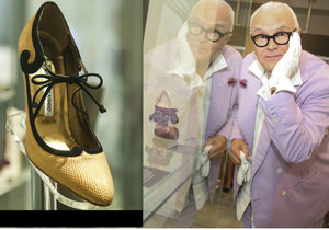 Manolo už v dětství rád pozoroval matku, jak si vyráběla vlastní boty.