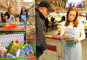 Národní potravinová sbírka může pomoci lidem v nouzi. Zapojte se také