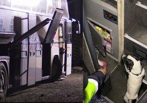 V autobusu z Ukrajiny zadrželi celníci přes 3 tisíce cigaret a dlouhou zbraň.