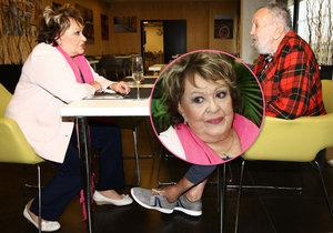 Jiřina Bohdalová v Alzheimer centru: Setkala se tu s exmanželem!