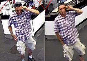 Muž vyrazil na nákup telefonu s cizí občankou. Úvěrový podvod mu nevyšel, hledá ho policie