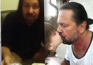 Pomejeho dcera (4) u poslední večeře před hladovkou: Táta si chce zachránit pr*el!